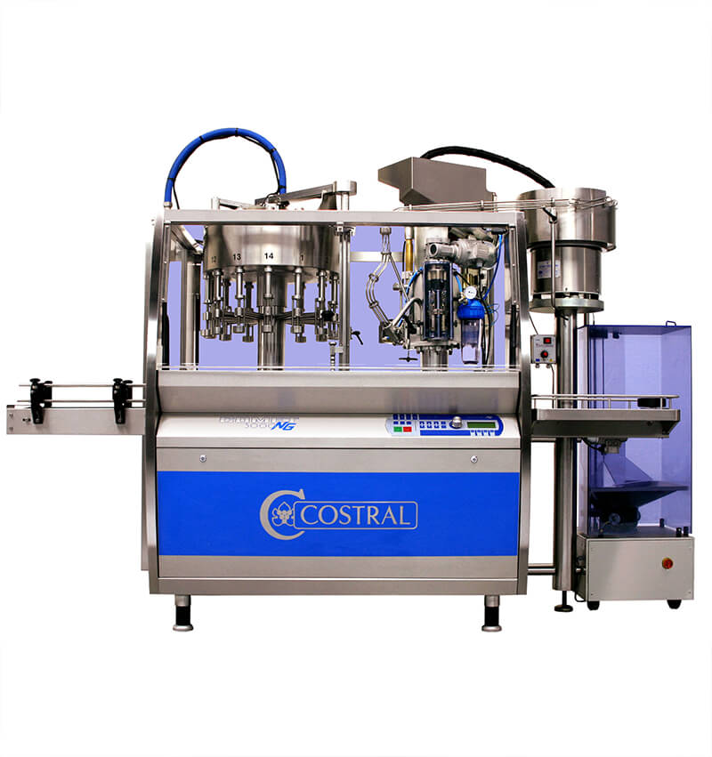 Comet corking capping machine